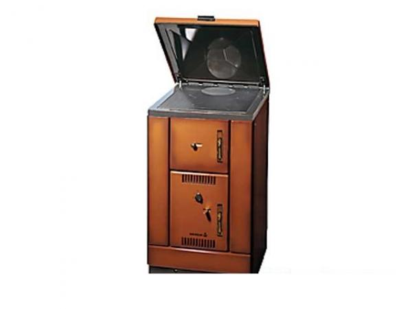 Cocina calefactora de le a k 158 wamsler desde for Cocinas calefactoras de lena precios