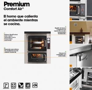 Horno Leña Interior Premium 60 (MCZ)
