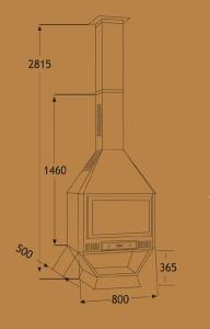 Chimenea Metálica Ref. 280 (TNC)