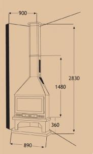 Chimenea Metálica Ref. 251 (TNC)