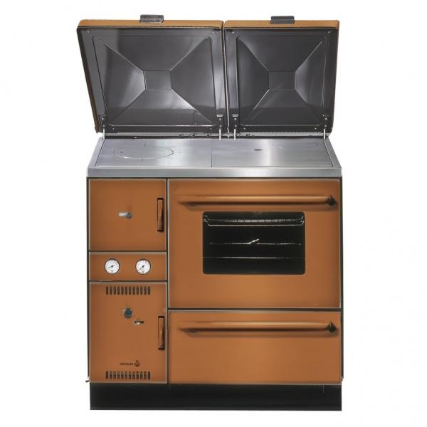 Cocina calefactora de le a k 148 wamsler desde for Cocinas calefactoras de lena precios