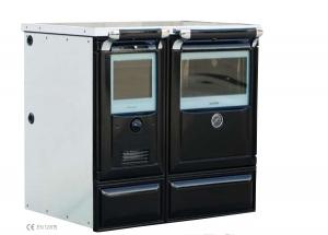 Cocina calefactora de leña Vulcano 7 TE3 (Lacunza)