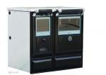Cocina calefactora de leña Vulcano 7 TE3