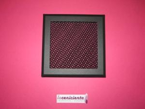 Rejilla 15x15 - Negro