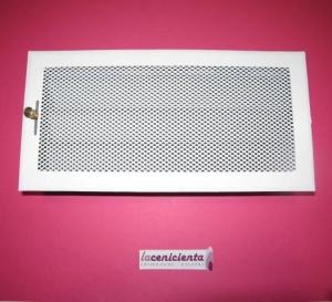 Rejilla 15x30 - Blanco - Regulable (Rejillas)