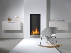Chimenea Gas Straight Frameless