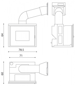 Insertable pellet Vivo 80 Hydro (MCZ)
