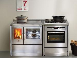 Cocina calefactora Neos 155 LGE  (Corradi)