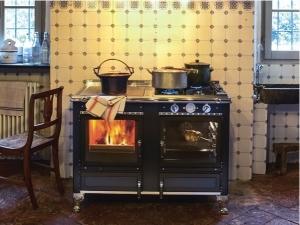 Cocina calefactora Rustica 120 LGE (Corradi)