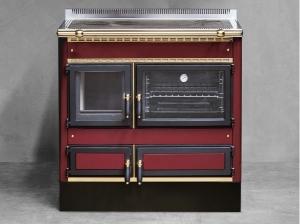 Cocina calefactora Rustica 90 L